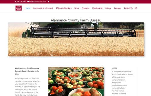 Alamance County Farm Bureau website