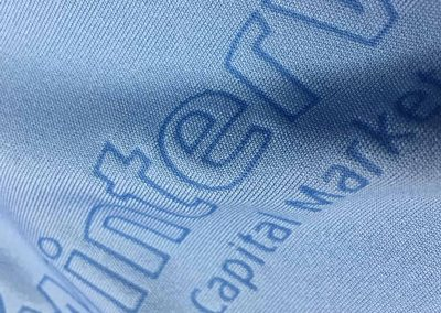 laser etch embroidery process