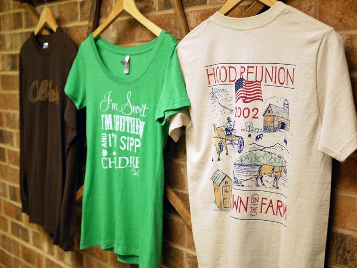 locally printed t-shirts