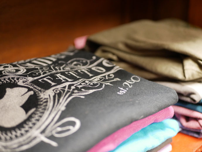screen printed t-shirts for business promotions