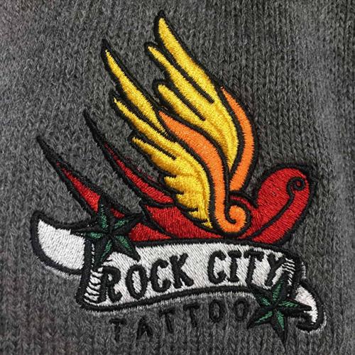 custom embroidery on fleece