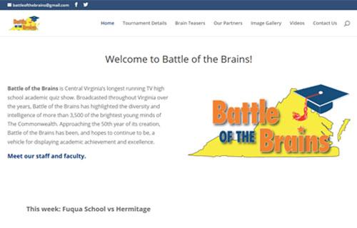 Battle of the Brains website