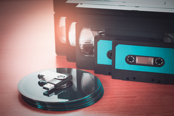 videotape transfer to digital and DVD