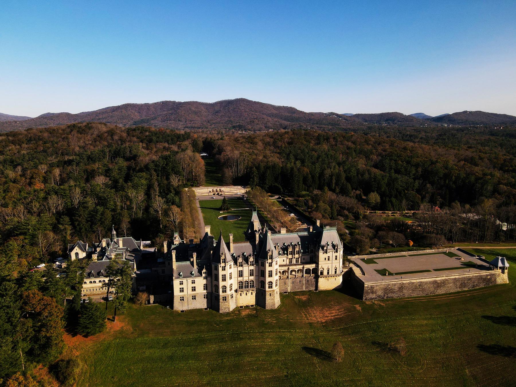 Biltmore Estate in Asheville, NC