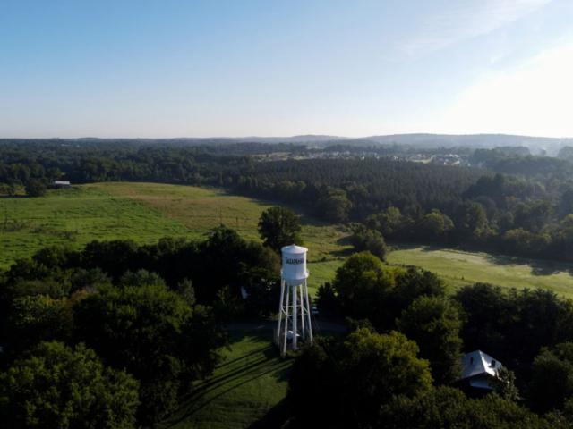 Water tower in Saxapahaw, North Carolina